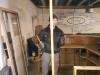 Neugestaltung des Clubraumes in der Halle - Hammer kaputt