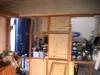 Neugestaltung des Clubraumes in der Halle - Kunst mit Bauschaum