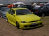 Ford Treffen in Lucka 2004 Ford Escort MK7 gelb Tuning Front