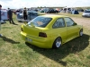 Ford Treffen in Lucka 2004 Ford Focus MK7 gelb Cleanes Heck