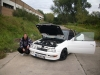 Kays weisses Escort Cabrio