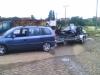 Manus Ford Escort auf dem Weg zum Schrottplatz - die letzte Reise