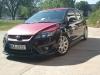 Manus schwarz roter Ford Focus MK2 Facelift