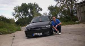 David Kausch und sein getunter Ford Escort MK7