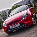 Marko's roter Ford Puma