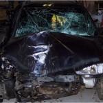 Manus Unfall 2006 der Ford Escort Kombi MK7 ist nun Schrott