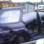 Manus Ford Escort Kombi auf dem Weg zum Schrottplatz